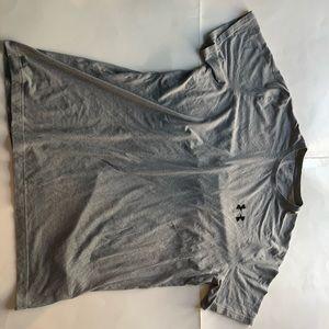 Under Armour grey short sleeve tee